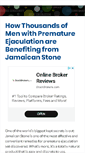 Mobile Preview of jamaican-stone.info